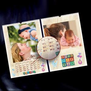 DigiNyomda fényképes naptár
